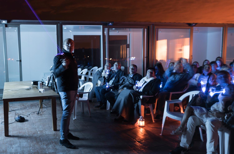 En el maridaje estelar de bodegas Valdelana se unen la astronomía, la gastronomía y la enología para formar una noche mágica.