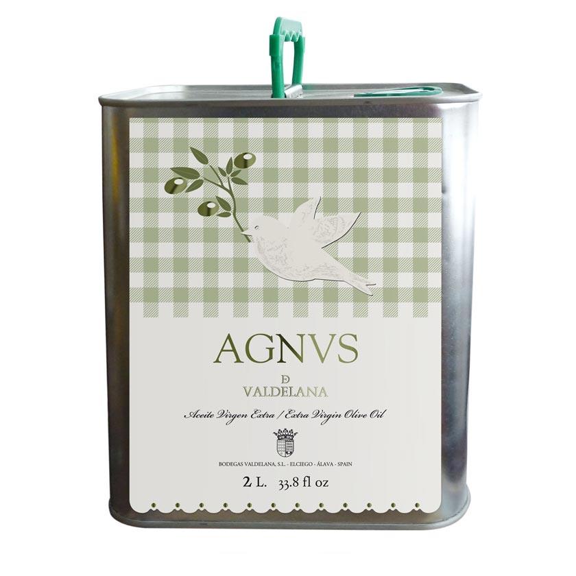 El aceite de Oliva Virgen Extra de la marca Agnvs se elabora con aceitunas de la variedad Arbequina. Un aceite de oliva muy sabroso y de gran intensidad aromática.