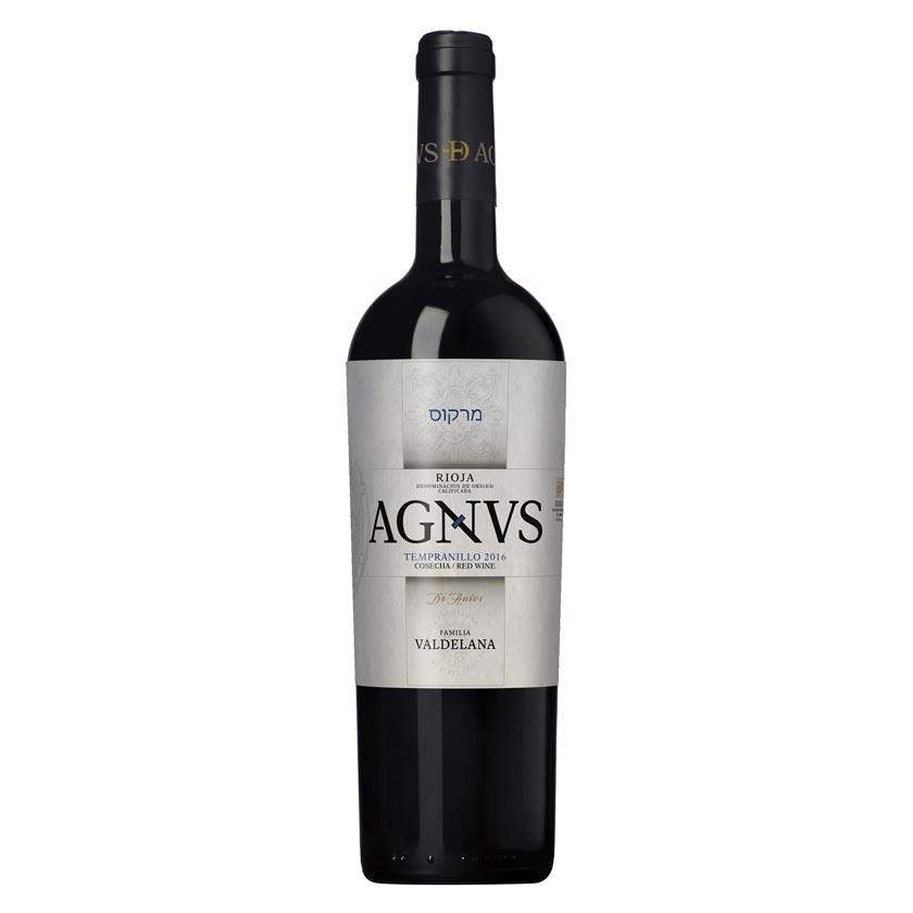 Este vino de la marca Agnvs está compuesto por un 95% de uva tempranillo y un 5% de graciano. Un vino fresco y maduro, con una entrada poderosa.