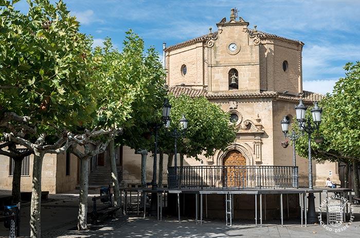 Ermita de Nuestra Señora Virgen de la Plaza en Elciego (Rioja Alavesa, País Vasco)