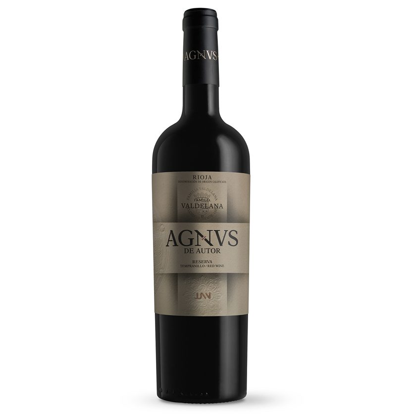 Vino reserva de la marca Agvns compuesto por un 95% de uva tempranillo y un 5% de graciano, permitiendo un largo envejecimiento. 24 meses en barrica. Ideal para carnes, guisos, legumbres y postres.