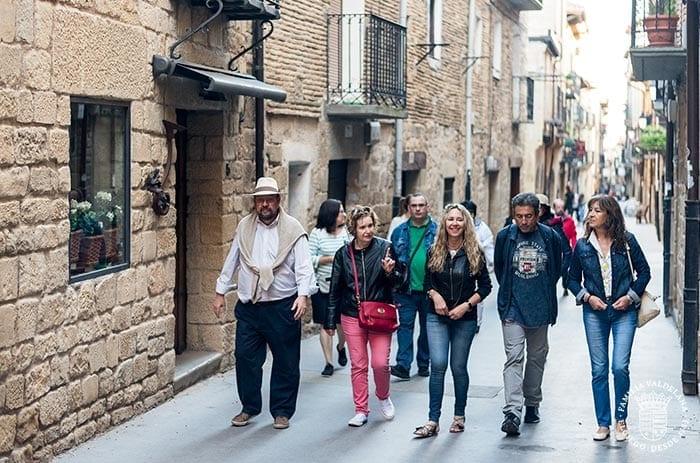 Paseando por las calles de Laguardia (Rioja Alavesa)