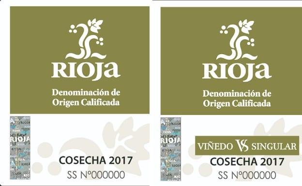 Etiqueta viñedo singular en la DOCa Rioja