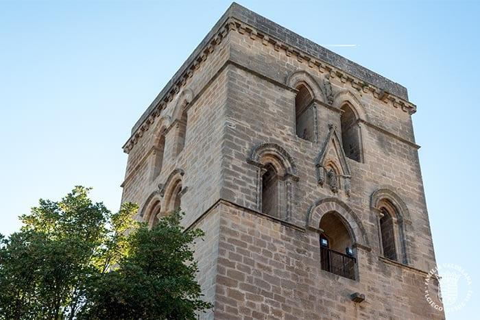 Torre campanario en Laguardia (Rioja Alavesa, País Vasco)
