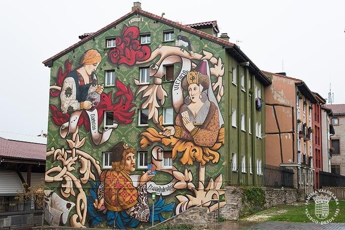 Murales de Vitoria, la capital del País Vasco