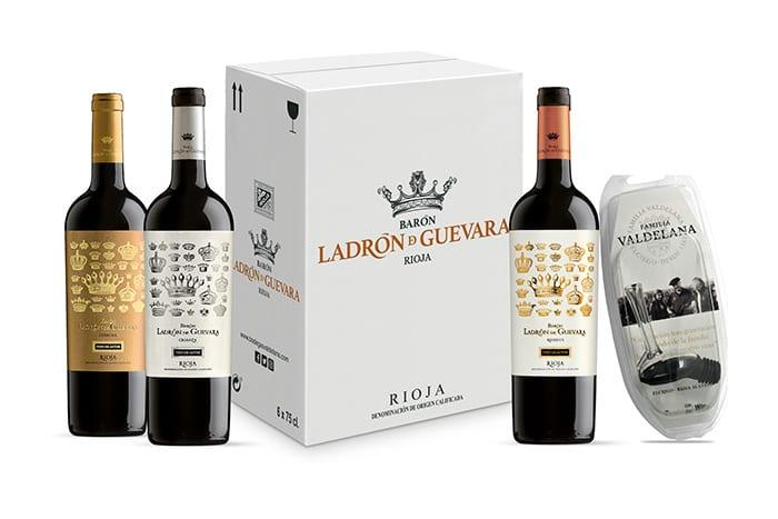"""Pack de vinos de autor """"Ladrón de Guevara"""" - Bodegas Valdelana (Rioja Alavesa)"""