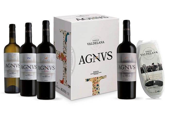 """Pack de vinos de autor """"AGNVS"""" - Bodegas Valdelana (Rioja Alavesa)"""