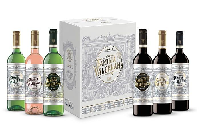 "Pack de vinos de ""Familia Valdelana"" - Bodegas Valdelana (Rioja Alavesa)"