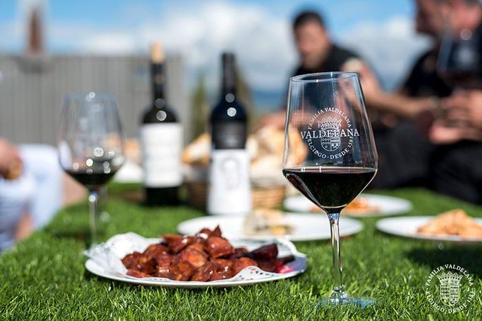 Visita con maridaje de vinos en Bodegas Valdelana (Elciego, Rioja Alavesa)
