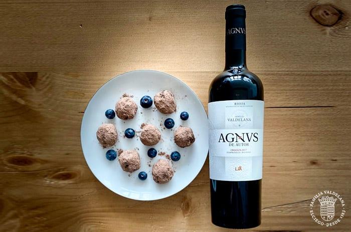 Maridaje de vinos tintos con postres