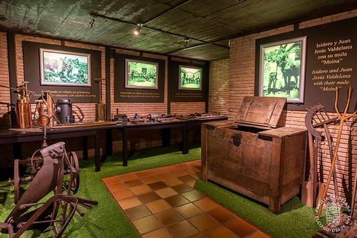El museo del vino de Bodegas Valdelana es uno de los planes enoturísticos que ofrece Rioja Alavesa.